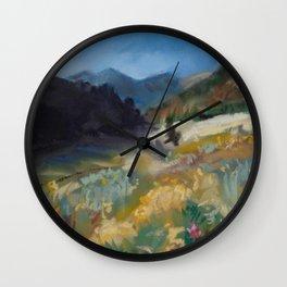 #9-Montana Mountain Meadow Wall Clock
