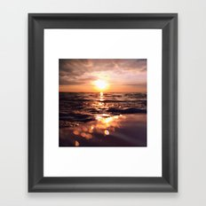 And there I find You in the mystery, in oceans deep - Square Framed Art Print