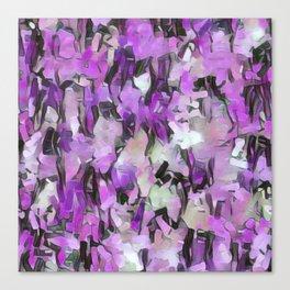 Confetti Lavender Tints Canvas Print