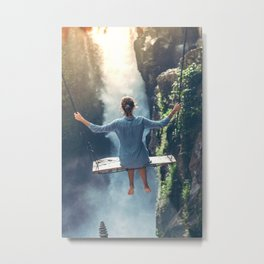She Believes (Color) Metal Print