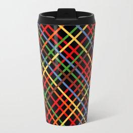 Metro Weave 45 Black Travel Mug