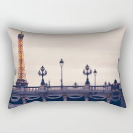 la tour eiffel Rectangular Pillow
