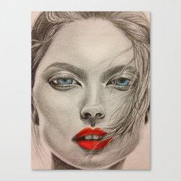 girl pop Canvas Print