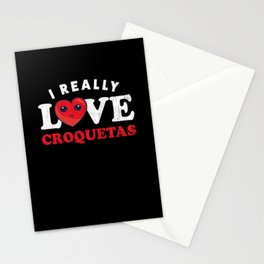 Cuban Croquetas Lovers product Stationery Cards