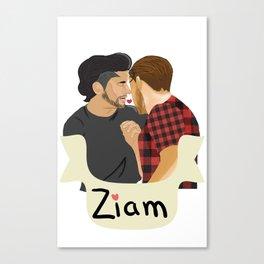 Ziam Canvas Print