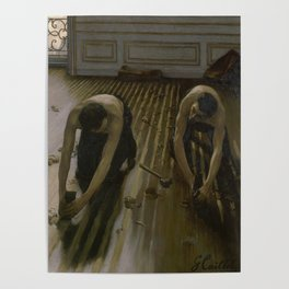Gustave Caillebotte - The Floor Planers Poster