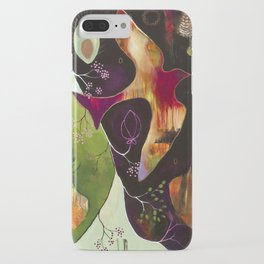 """Deep Peace"" Original Painting by Flora Bowley iPhone Case"