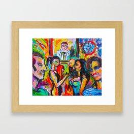 Donna Destri and Friends Framed Art Print