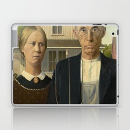 AMERICAN GOTHIC - GRANT WOOD Laptop & iPad Skin