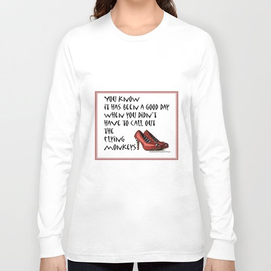 Ruby Slippers Long Sleeve T-shirt