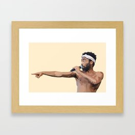 CHILDISH Framed Art Print