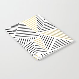 A Linear White Gold New Notebook