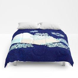 Dot Matrix Winter Comforters