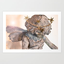 Dreamland Faerie (Lens Flair) Art Print