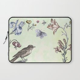 Nature is a temple Laptop Sleeve