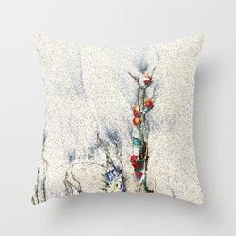 Seaside Arrangement Throw Pillow