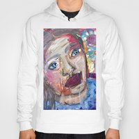 river Hoodies featuring River by S.Queimado-Lima