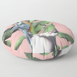 Tropical Girl  2 Floor Pillow