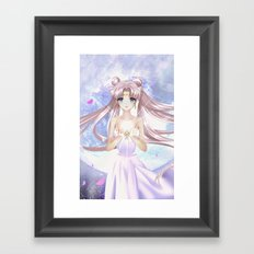 DON'T YOU CRY Framed Art Print