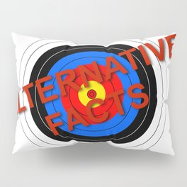 Target Alternative Facts Pillow Sham