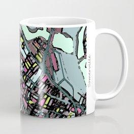 Abstract Map - Somerville MA Coffee Mug