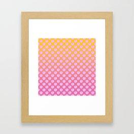 As If Candy Heart Framed Art Print