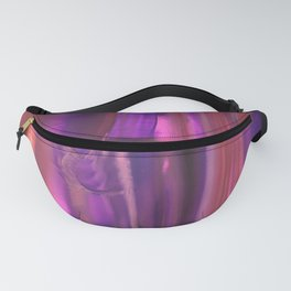 Purple, Orange and Red Abstract Fanny Pack