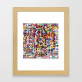 Lines 2 Framed Art Print