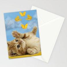 Kitty Wonder Stationery Cards