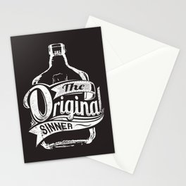 The original sinner Stationery Cards