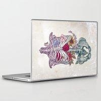 la Laptop & iPad Skins featuring La Vita Nuova (The New Life) by Rachel Caldwell