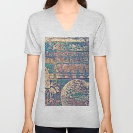 Etched in Stone Unisex V-Neck