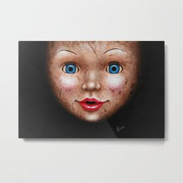 Doll Metal Print