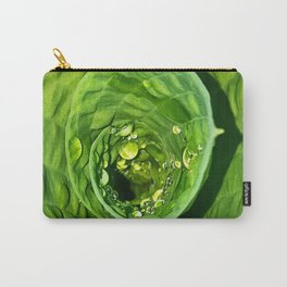 Spiral Drops Carry-All Pouch