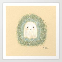 Little ghost Art Print