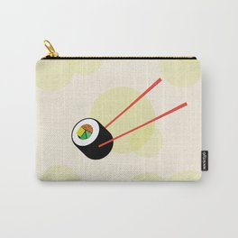 Veggie Sushi Roll Carry-All Pouch