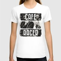 cafe racer T-shirts featuring Cafe Racer by Rainer Steinke