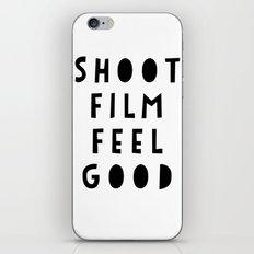 Shoot Film, Feel Good iPhone & iPod Skin