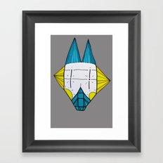 Robo dog Helgi Framed Art Print