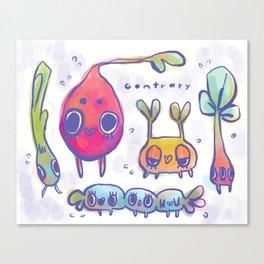 beast garden Canvas Print