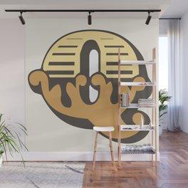 'The letter Q' Design Motif Wall Mural