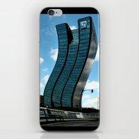 buildings iPhone & iPod Skins featuring Buildings by Kathleen Stephens