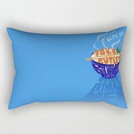 Pork Cutlet Bowl Fatale Rectangular Pillow