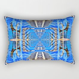 Bird Code Activations Rectangular Pillow