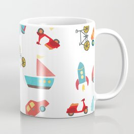 cute vehicles Coffee Mug