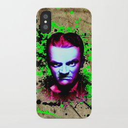 James Cagney, angry iPhone Case