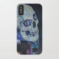 gustav klimt iPhone & iPod Cases featuring Death and Life by Gustav Klimt by cvrcak