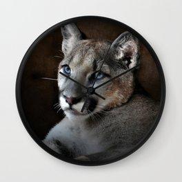 The Mountain Lion Wall Clock