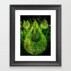 Tiny Forest Framed Art Print