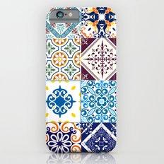 Ornamental Art - Colorful Floral Pattern - Patterns - Mix Patterns Slim Case iPhone 6s
